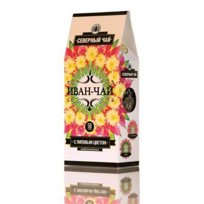«ИВАН-ЧАЙ» с Липовым цветом ферментированный 50 гр «Северный чай»