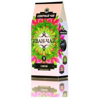 «ИВАН-ЧАЙ» с Мятой ферментированный 50 гр «Северный чай»