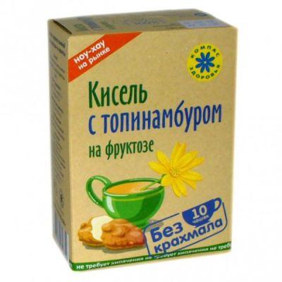 Кисель Топинамбур с фруктозой 150 гр «Компас здоровья»