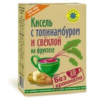 Кисель Топинамбур со свеклой на фруктозе 150 гр «Компас здоровья»