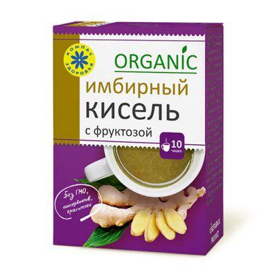 Кисель с фруктозой Имбирный 150 гр «Компас здоровья»