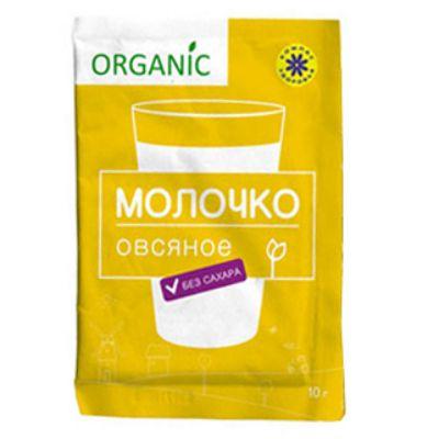 Молочко Овсяное без сахара 10 гр «Компас здоровья»
