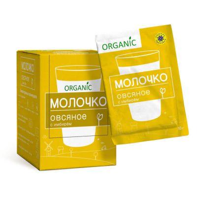 Молочко Овсяное c Имбирем 10 гр «Компас здоровья»
