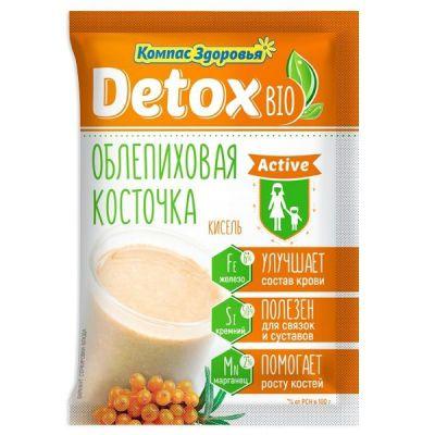 Кисель Detox Bio Active 25 г Облепиховая косточка «Компас здоровья»