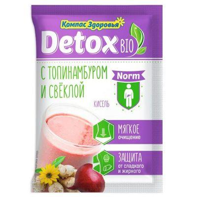 Кисель Detox Bio Norm 25 г с Топинамбуром и свеклой «Компас здоровья»