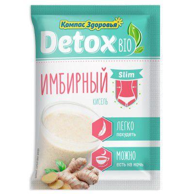 Кисель Detox Bio Slim 25 г Имбирный «Компас здоровья»