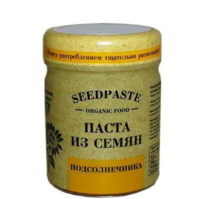 Паста бутербродная из семян подсолнечника с мёдом 200 г «Компас здоровья»