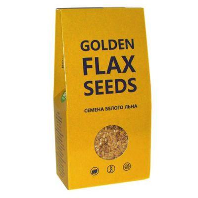 Семена белого льна 150 г (Golden Flax Seeds) от компании «Компас здоровья»