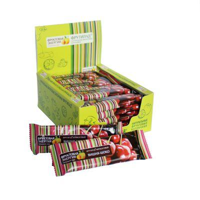 Батончик Фрутилад (Вишня в шоколаде) 40гр «Фруктовая энергия»