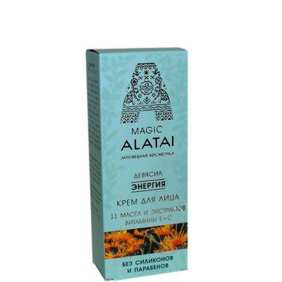 Крем-Энергия для лица 40мл «Magic Alatai» (Компас здоровья)