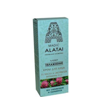 Крем-Увлажнение для лица 40мл «Magic Alatai» (Компас здоровья)
