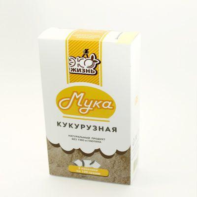Кукурузная Мука 300гр «Хутор Здоровья»