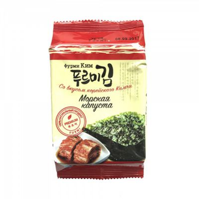Морская капуста (Фурми Ким) со вкусом корейского Кимчи 5 гр «Ланикс М»