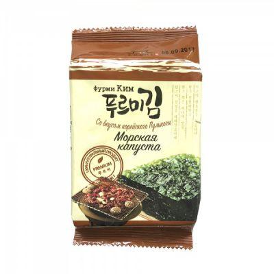Морская капуста (Фурми Ким) со вкусом корейского Пулькоги 5 гр «Ланикс М»