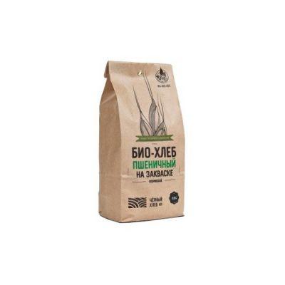 Набор для выпечки: БИО-Хлеб Пшеничный на закваске формовой 525 гр «Чёрный хлеб»