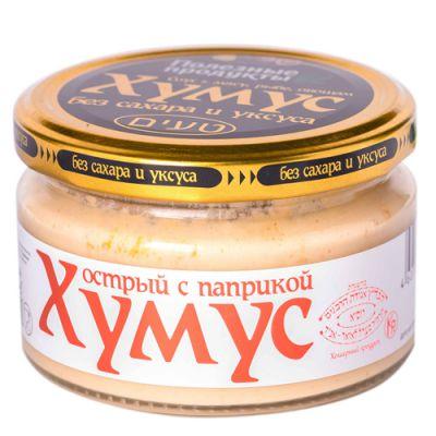 Закуска (Тайны востока-хумус) Острая с паприкой 200 гр «Амэйзин Фуд»