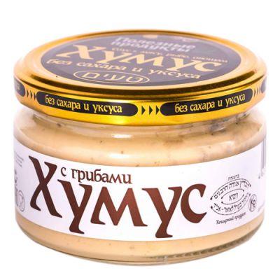 Закуска (Тайны востока-хумус) с Грибами 200 гр «Амэйзин Фуд»