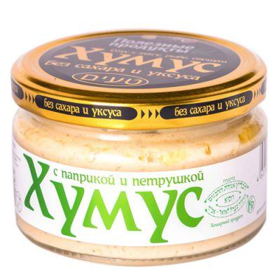 Закуска (Тайны востока-хумус) с Паприкой и петрушкой 200 гр «Амэйзин Фуд»
