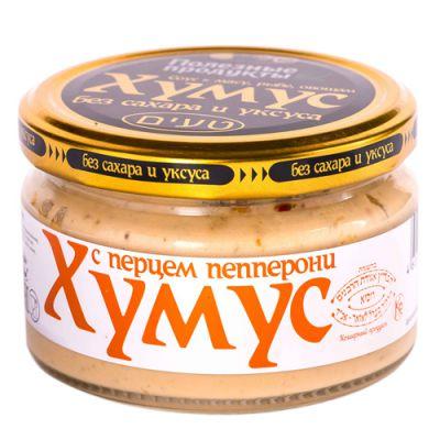 Закуска (Тайны востока-хумус) с Перцем и Пепперони 200 гр «Амэйзин Фуд»