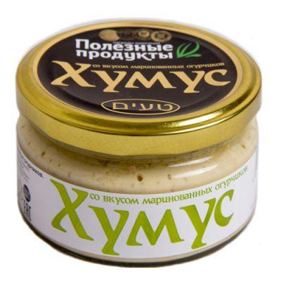 Закуска (Тайны востока-хумус) со вкусом Маринованных огурчиков 200 гр «Амэйзин Фуд»