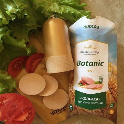 Колбаса Зерновая постная 300 гр «Botanic Bio»
