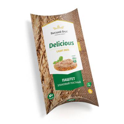 Паштет Пшеничный «Delicious Light Pate» 125 гр «Высший вкус»