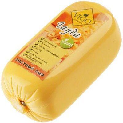 Сыр постный Гауда 400 гр «Вего»