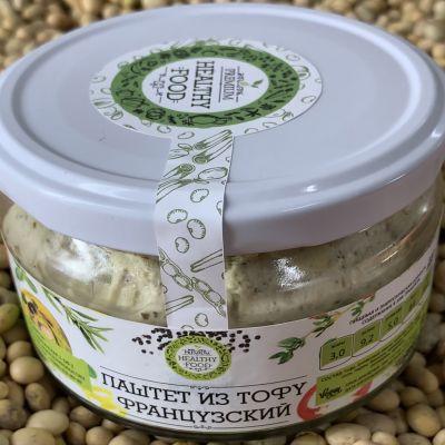 Паштет из Тофу Французский 200 гр «HEALTHY FOOD»