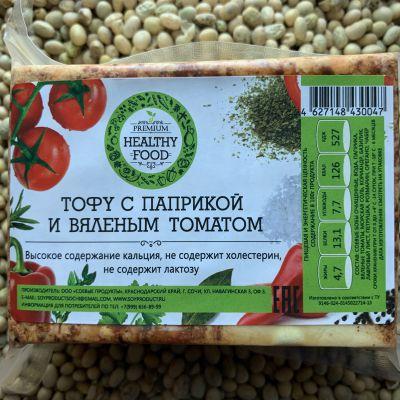 Сыр Тофу с вяленым томатом и паприкой 1 кг «HEALTHY FOOD»