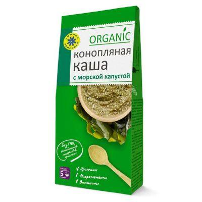 Каша Конопляная с Морской капустой 250 гр «Компас здоровья»