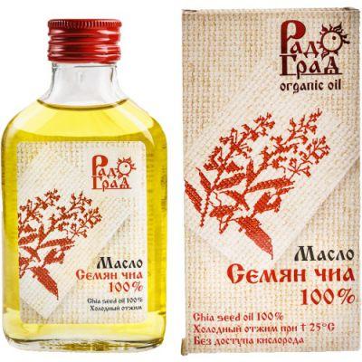 Масло семян ЧИА 100 мл «Радоград»