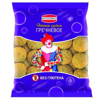 Печенье ГРЕЧНЕВОЕ на фруктозе без глютена 200 гр «РОТОТАЙКА»