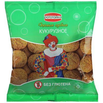 Печенье КУКУРУЗНОЕ на фруктозе без глютена 200 гр «РОТОТАЙКА»