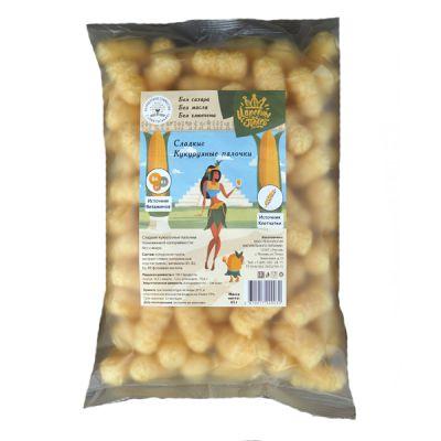 Сладкие палочки КУКУРУЗНЫЕ (без сахара) 65 гр ТМ «Царевны полей»