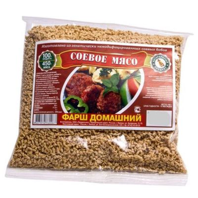 Соевый ФАРШ домашний 150 гр ТМ «Продальянс»