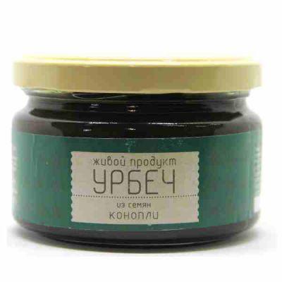 УРБЕЧ из семян Конопли 225 гр «Живой продукт»