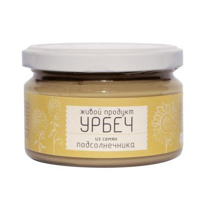 УРБЕЧ из семян Подсолнуха 225 гр «Живой продукт»