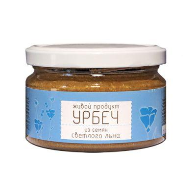 УРБЕЧ из семян Светлого льна 225 гр «Живой продукт»