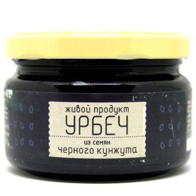УРБЕЧ из семян чёрного Кунжута 225 гр «Живой продукт»