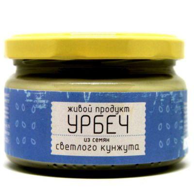 УРБЕЧ из семян светлого Кунжута 225 гр «Живой продукт»