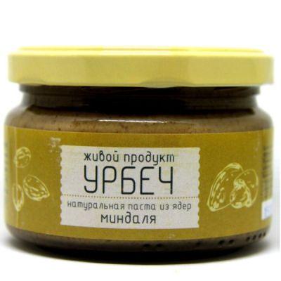 УРБЕЧ из ядер Миндаля 225 гр «Живой продукт»
