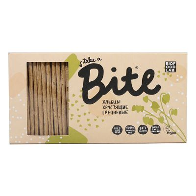 Хлебцы Гречневые Хрустящие 150г «Bite»