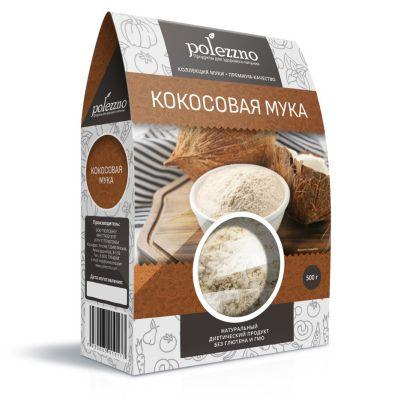 Мука Кокосовая 500 гр «POLEZZNO»