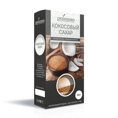 Кокосовый Сахар 100 гр «POLEZZNO»