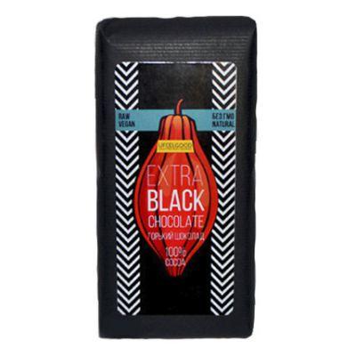 Extra Black Chocolate 100% горький 200 гр «UFEELGOOD»