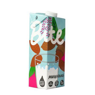 Напиток Миндальный 1 литр (пастеризованный) «Bite»
