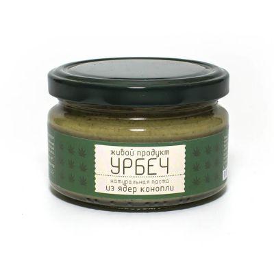 УРБЕЧ из ядер Конопли 225 гр «Живой продукт»