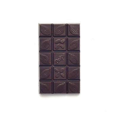 Детский Шоколад молочный, какао 54% на Меду с Фундуком «Мастерская шоколада ДОБРО»