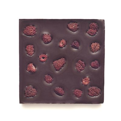 Шоколад горький, какао 72%, на Пекмезе, с Малиной и Лимоном  «Мастерская шоколада ДОБРО»