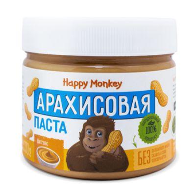 Арахисовая паста «Фитнес» 330 гр Happy Monkey